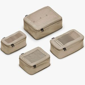 NWOT Monos Travel Compressible Packing Cubes